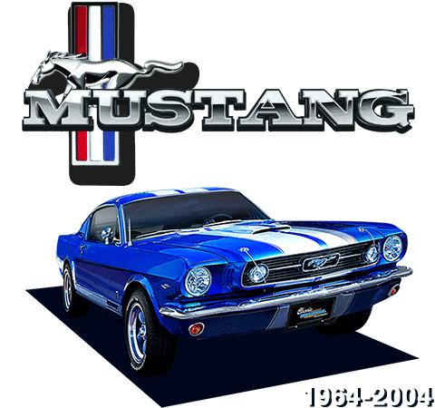 1964-2004 Mustang